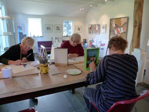 Schildercursus Drenthe - Les in kleine groepen